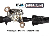 CASTING ROD GLOVE • Shorty Series 4.5' • Fits Rods 5.5' - 6.5'