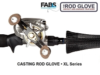 CASTING ROD GLOVE • XL 6' • Fits Rods 7.25' - 8'