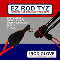 THE ROD GLOVE TYZ - 2PK RED