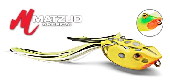 Matzuo soft body lures nano kroaker frog for Matzuo fishing rod