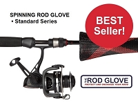 SPINNING ROD GLOVE • Standard 5.5' • Fits Rods 6' to 7'