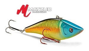 Matzuo hard body lures rattle eye joe for Matzuo fishing rod
